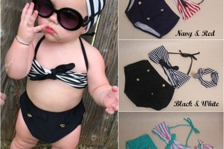 Pretty Little Swimsuit Collection 2-7yrs