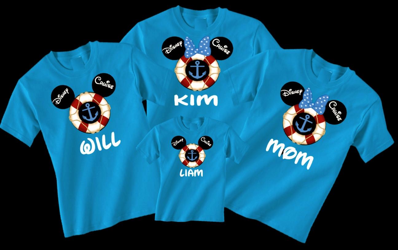 Disney Family Cruise Vacation T-Shirts on Storenvy