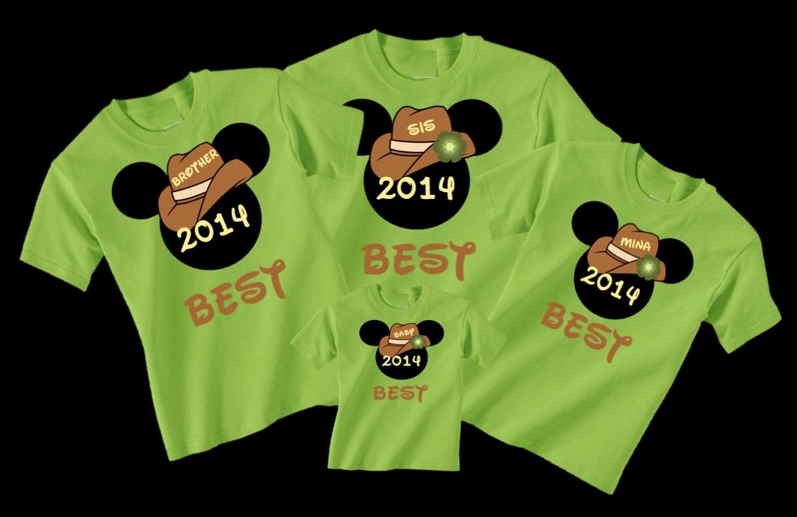 Disney Safari Cowboy Hat Family Vacation T Shirts