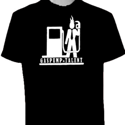 Logo t-shirt (black) (postage paid usa)