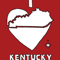 Kentucky love, 5x7 print