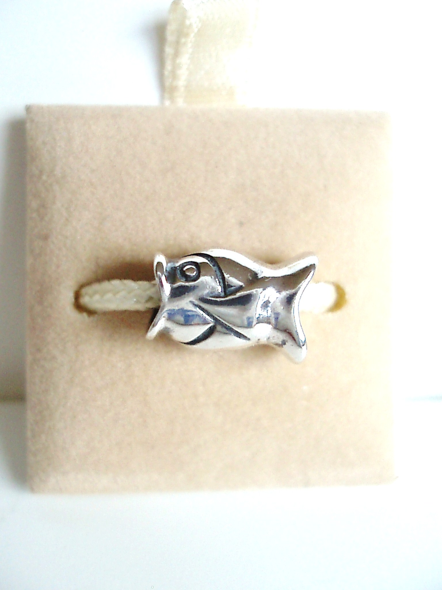Sterling silver fish bead fits pandora and chamilia bead for Pandora fish charm