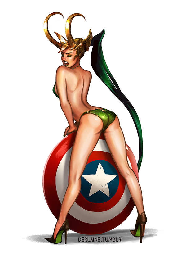 Derlaine   Lady Loki Shield   Online Store Powered by Storenvy