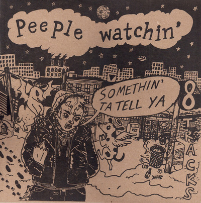 "Nnr 004 - peeple watchin' ""somethin' to tell ya"" lp"
