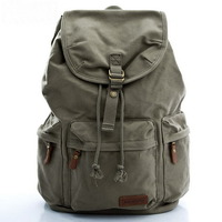 Fantastic canvas laptop daypack backpack - Thumbnail 2