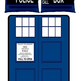 TARDIS Small Bed Set - Fleece Blanket 2 Pillow Cases - Thumbnail 1