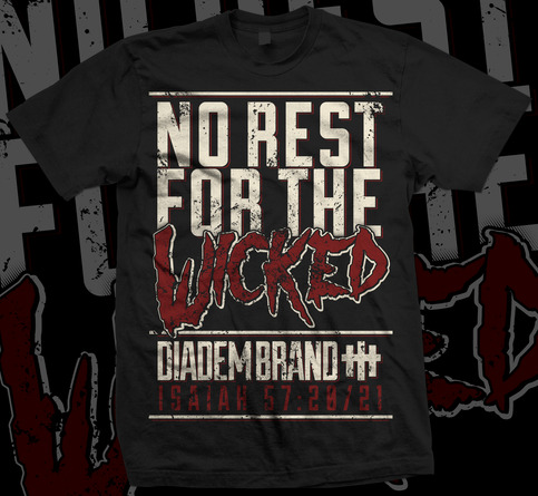 No Rest For The Wicked T Shirt On Storenvy