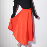 Maxi Swing Skirt - Thumbnail 3