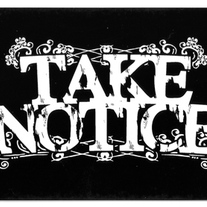 STICKER | Take Notice Sticker