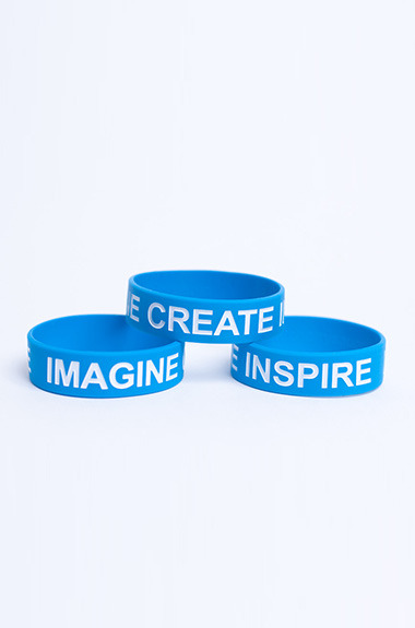 Imagine Create Inspire Wristband