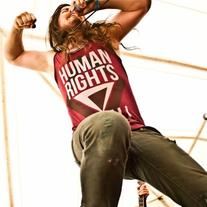 """Human Rights For All"" Cranberry Tank"