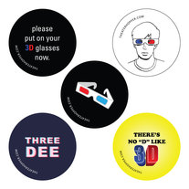3D Button Set