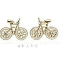 FREE SHIPPING Bicycle Bike Earrings Girls Ladies Womens Teen