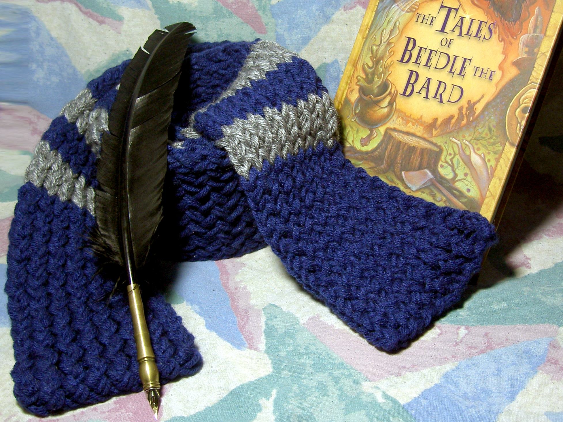 Smiling Moon Creations | Harry Potter inspired knitted Hogwarts ...