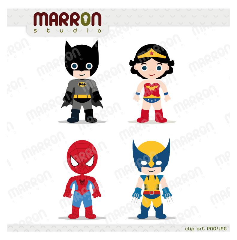 marron studio superhero inspired set batman wonder woman spider rh elmarron storenvy com Spider Web Clip Art Friendly Spider Clip Art
