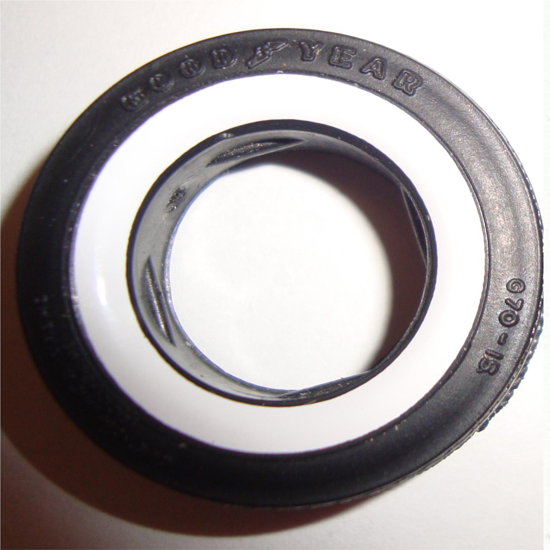 Vinyl Whiteline Decals for AMT Firestone Tires