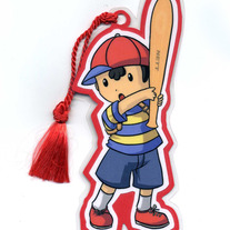 Bookmark - Super Smash Bros. BRAWL: Ness (Fanart)