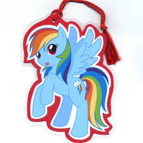 Bookmark - My Little Pony FiM: Rainbowdash (Fanart)