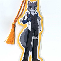 Bookmark - Raven Wolf - Teddy Conner