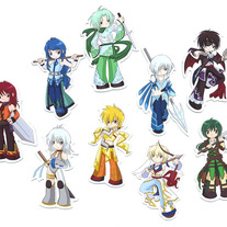 Mini Magnets - Elemental Chibi Bishonen Magnets