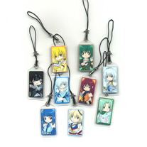 Cellphone Charms - Elemental Chibi Bishonen Charms