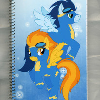 Notebook M - My Little Pony FiM: Wonderbolts (Fanart)
