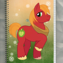 Notebook M - My Little Pony FiM: Big Mac (Fanart)