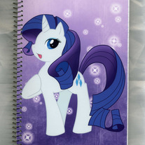 Notebook M - My Little Pony FiM: Rarity (Fanart)