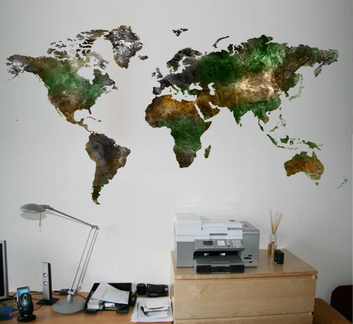 Wall world map decal satellite vinyl moonwallstickers online wall world map decal satellite vinyl gumiabroncs Image collections