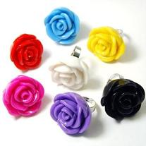 Acrylic Rose Ring