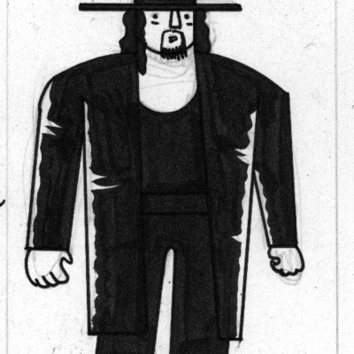 Wrestling entertainers - the undertaker