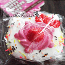 RARE Hello-Kitty Chocolate Cake Squishy