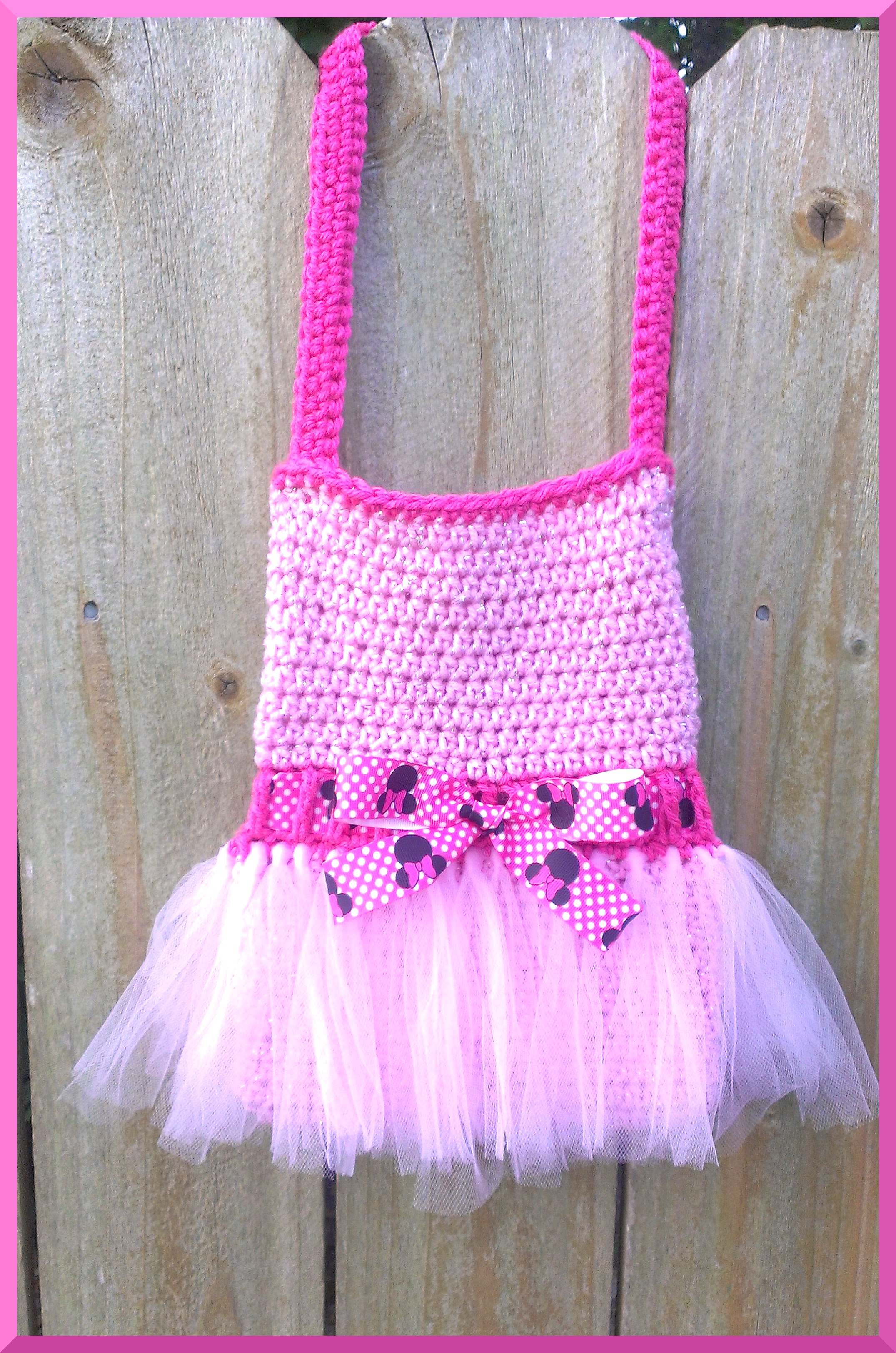 All About GLAM | Large Tutu Cute Crochet Purse | Online Store ...