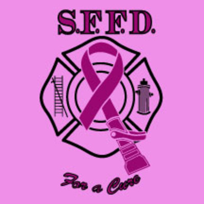 2013 women's sffd firefighters for a cure tee-pink
