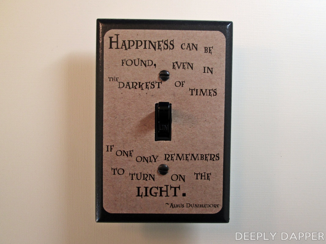 Oversized Light Switch Covers Happiness Can Be Found Quote Jumbo Light Switch Plate Magical