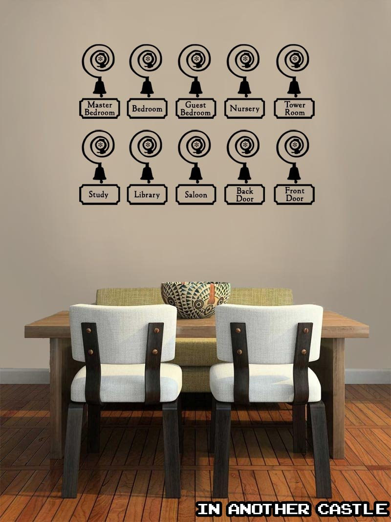 ... Downton Abbey Servants Bell Decal   Edwardian Decor   Funny Sticker For  Kitchen And Home