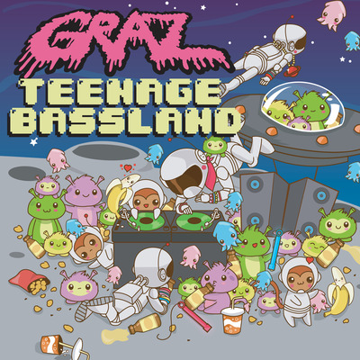 "Graz - teenage bassland 7"" vinyl"