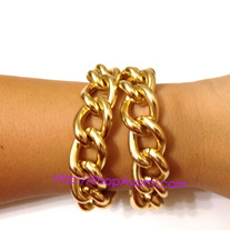 Gold Double Wrap Bracelet