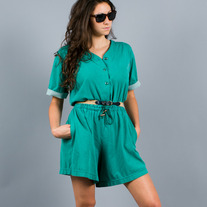 Version of Teal Romper