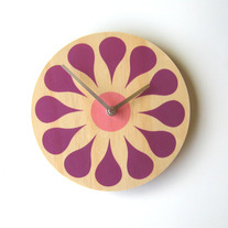 Objectify Bloom Wall Clock