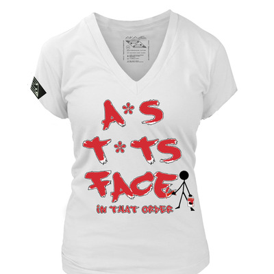 "A*s, t*ts, face ""in that order!!"" white/infared ladies"