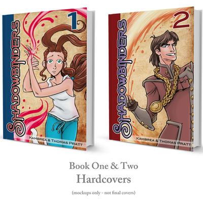 [pre-order] 'shadowbinders: books one & two' hardcover graphic novel bundle