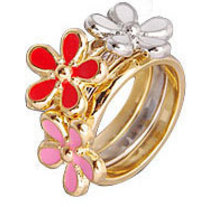 Flower rings 3 in 1