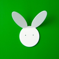 Objectify Rabbit Wall Hook