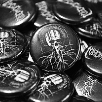 "Plague Widow 1"" Buttons"
