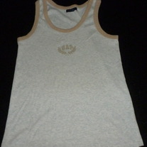 GAP TANK TOP-BROWN XS
