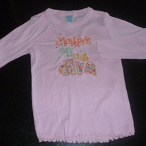 Mothers Day Out Diva Pink Shirt-Size 4T