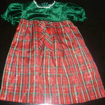Christmas Dress Size 3T
