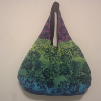Handmade 2 in 1 Reversible Handbag/ Flower Prints