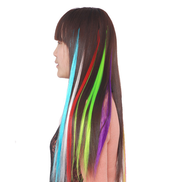 Vibrant Color Hair Extensions 43